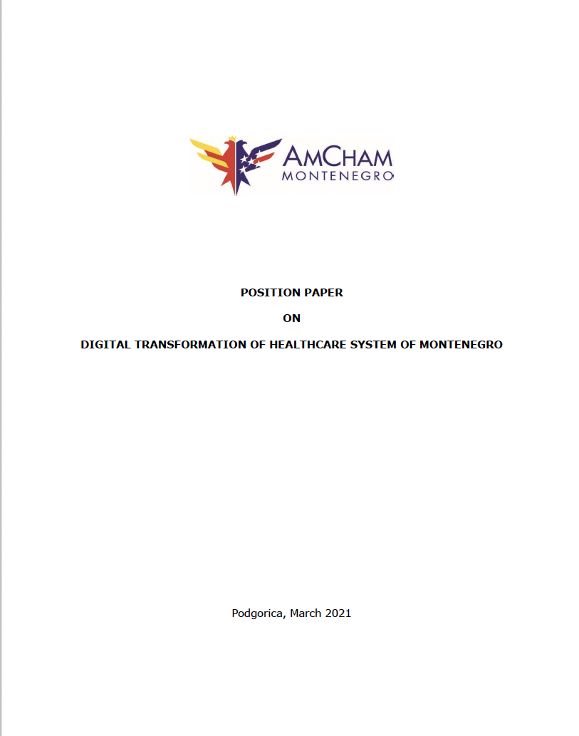 Digital transformation of the healthcare system of Montenegro