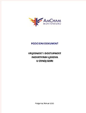 Vrijednost i dostupnost inovativnih ljekova u Crnoj Gori